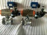 Tipo neumático válvulas de la industria ligera O de control de bola