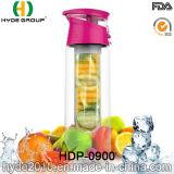 бутылка воды 23oz Tritan материальная с плодоовощ Infuser, BPA освобождает пластичную бутылку вливания плодоовощ (HDP-0900)