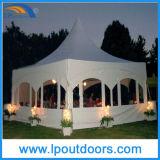 Tente en aluminium extérieure d'usager de chapiteau de mariage de crête élevée de trame