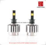 Светодиодный индикатор автомобилей 4300K/6000K/8000k светодиодные фары для легковых автомобилей и грузовиков H4