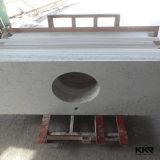 부엌 (180105)를 위한 백색 설계된 석영 돌 싱크대