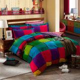 Europäische Art druckte Baumwollbettwäsche-Set