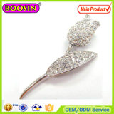 Schein-australisches Kristalltulpe-Silber-Brosche-Silber-magnetische Brosche