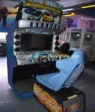 Aantrekkend Dynamische de Auto van de Straat van de Machine van het Spel van de Simulator Overtroffen met een Camera