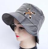 Mode femme chapeau violet de flanelle de coton