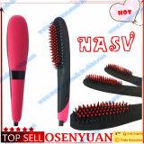 Enderezadora del pelo de Año Nuevo regalo del cepillo del peine eléctrico