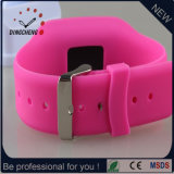 Montre-bracelet de silicones de montre de sport de montre de Pedometer (DC-562)