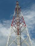 GSM CDMA Mobiele die Telecommunicatie 4 van de Telefoon van de Cel Legged Toren van het Staal in China wordt gemaakt
