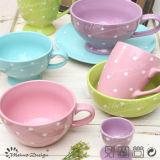13cm Ceramic Bowl con Shinny Glaze e DOT Design