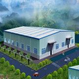Edificio prefabricado de la estructura de acero para el taller o el almacén (TL-WS)