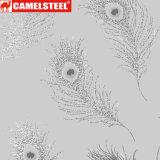 Hoja impresa flora modificada para requisitos particulares de 3D PPGI para la decoración del revestimiento de la pared