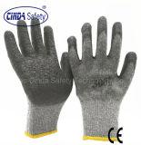 Труда защитные мятым эффектом готовой латексные перчатки/рабочие перчатки и защитные перчатки