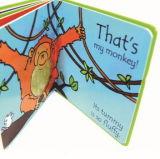 Meilleur cadeau Custom toucher et sentir livre pour enfant
