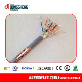 0.51mm 4pair Cable de red LAN de cobre SFTP Cat5e