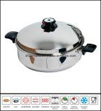 Poêle plats en acier inoxydable Ustensiles de cuisine