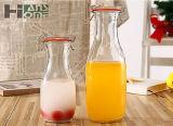 500ml 딸기 사발의 유리에 의하여 밀봉되는 단지 얇은 조각 부엌 투명한 저장 단지 꿀 단지 마른 과일 저장 그릇