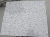 Lastra del granito G603 e mattonelle grigio-chiaro, granito dalla propria cava