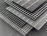 Rejilla de acero de ancho de vía de la escalera para la fábrica