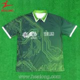 Healong Gut-völlig Farben-Sublimation-Polo-Hemd-Sublimation