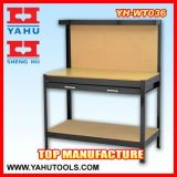 Table de travail en acier inoxydable en bois réglable en hauteur de bricolage Wth Drawers in Workshop (YH-WT009)