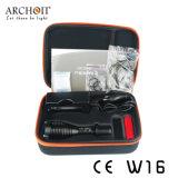 Archon 340 lúmenes de la lámpara de copia de seguridad de buceo con tratar la superficie de Duro-anodizado (HAIII)