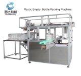 Machine d'emballage de bouteilles vides en plastique