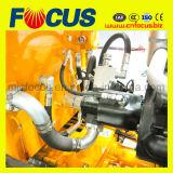 Énergie électrique gentille de pompe concrète de remorque de qualité, pompe de transport concrète