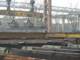 Tirante magnético para o trilho pesado e o aço perfilado