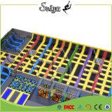 Grote Binnen Multi Functionele Commerciële Trampoline Slamball voor Volwassene