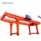 U tipo destornillador de 10-50 toneladas viga doble grúa de pórtico