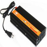 Doxin 12V-220V gelijkstroom aan AC 500watt de Omschakelaar van de Macht met Lader 5A