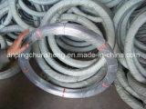 2.4*3.0mm Galvanized Oval Wire (철강선 및 밧줄을 일으키기의 제조자)