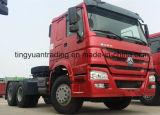 China HOWO de Nieuwe Vrachtwagen Trator van 336 PK 6X4