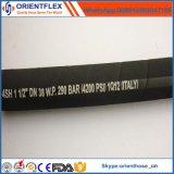 Huile haute pression et le flexible hydraulique résistant à l'abrasion