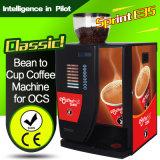 Escritório de máquina de venda automática de café espresso