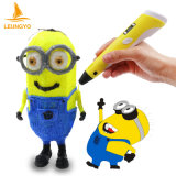 Hot 3D Printer Pen Drawing Pen com ABS Filament Arts LED Printer 3D Pen Lix para crianças
