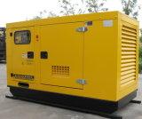 110kw/137.5kVA 침묵하는 디젤 엔진 발전기 세트