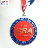 De hete Medaille van het Metaal van Customed van de Verkoop voor Concurrentie van het Voetbal
