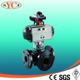 De entrada superior eléctrico montado en el muñón de válvula de bola ((SZQ941)