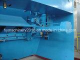 Scherende Maschine der hydraulischen Guillotine-QC11y-12X3200, Stahlplatten-Ausschnitt-Maschine