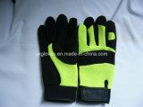 Механик Glove-Hand Glove-Cheap Glove-Work Glove-Leather вещевого ящика