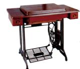 Haushalts-Nähmaschine-Standplatz und Tisch