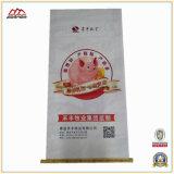 50kg, gesponnener Beutel des Plastik25kg pp. für Reis, Mehl, Düngemittel, Futter