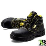Steel Toe semelle intermédiaire en acier des chaussures de protection des chaussures de sécurité a réveillé les chaussures