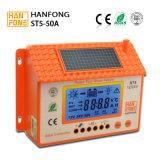 지적인 50A PWM 태양 전지판 책임 관제사 12V24V 건전지 규칙 (ST5-50A)