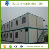 Casa prefabricada del envase de los hogares de la exportación de China para el dormitorio del estudiante