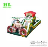 Het creatieve Park van het Landbouwbedrijf van het Stuk speelgoed van Jonge geitjes Grappige Opblaasbare met Mini Dierlijke Vormen voor Kinderen om Hun Eigen Pretpark op te bouwen