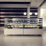 De Showcase van de Vertoning van de Cake van de Apparatuur van de bakkerij