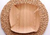 Bandeja de bambu bandeja de chá Taça de frutas prato de frutas que serve a bandeja