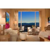 現代ホテルの部屋の家具はホテルの寝室セットを包む